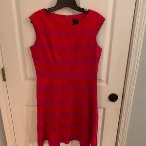 A-line Red & Pink Dress / sz 10